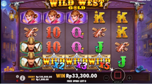 Cara Bermain Slot Wild West Gold